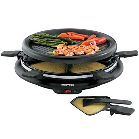 Raclette Grill Dubai by Salton Tpg 315 6 Person Nonstick Grill And Raclette