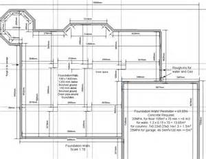 foundation plan for a garage house plans home designs