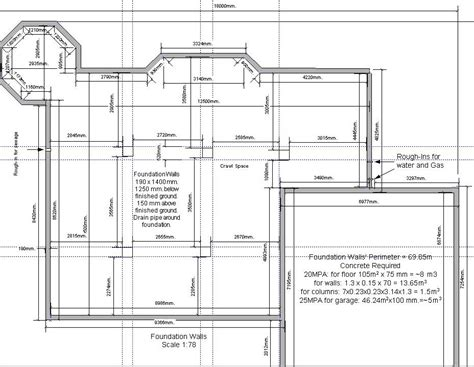 house foundation plans the house i built getting permits