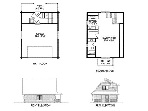 small house floor plans with loft cottage house plans