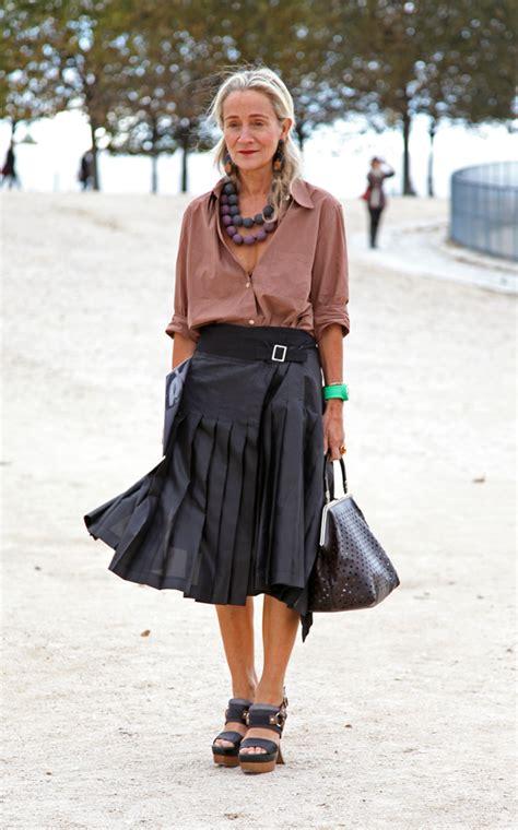 wardrobe fashion women over 60 187 paris fashion week street styles part one