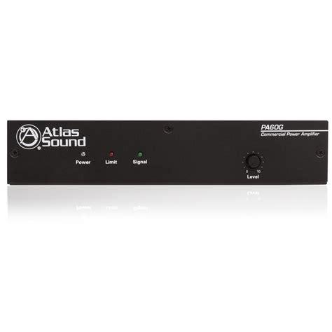 Power Lifier 60 Watt 2 input 60 watt single channel power lifier atlasied