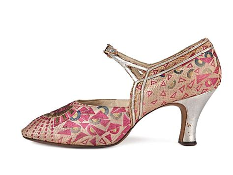 silver patterned heels shoe icons shoes pink geometric patterned brocade