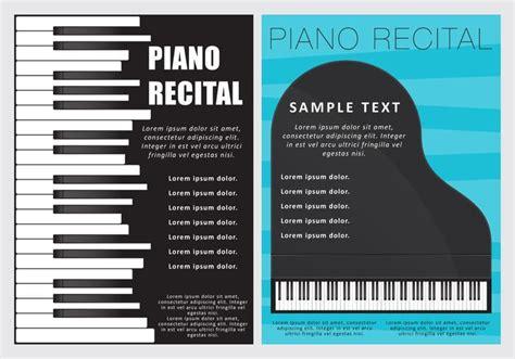 Piano Recital Flyers Download Free Vector Art Stock Piano Recital Poster Template