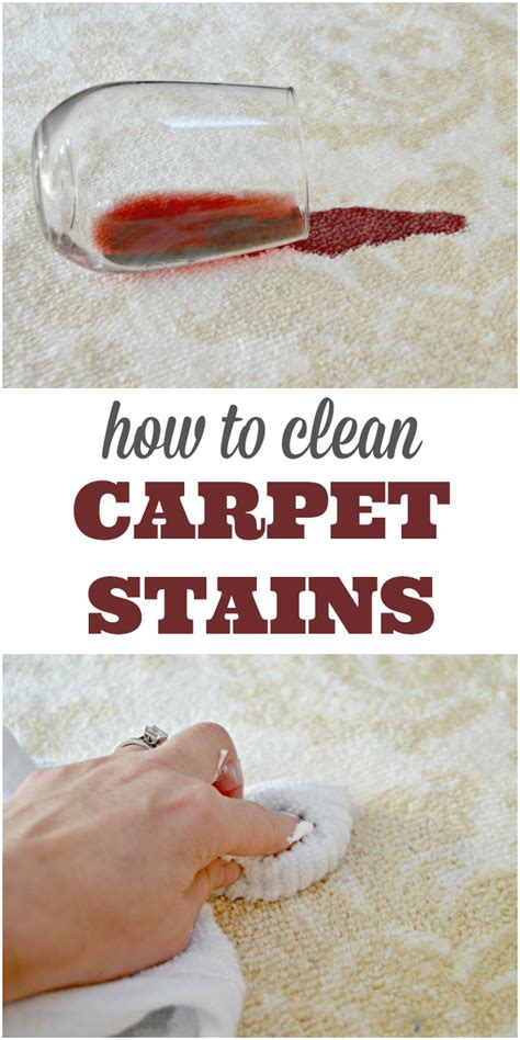 how to clean carpet stains quickly 4 real