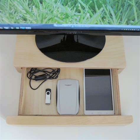 Computer Monitor Stand With Drawer by Pacco Monitor Stand And Drawer Homeware Furniture And