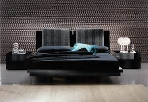 Luxor contemporary platform bed and bedroom furniture collection