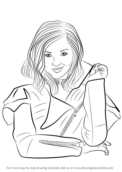 Evie Disney Descendants Coloring Pages Coloring Pages Coloring Pages Descendants