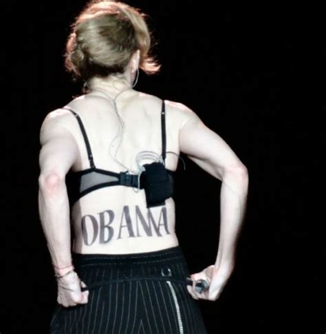 Madonna Would Support Al For President madonna gets in support for president obama