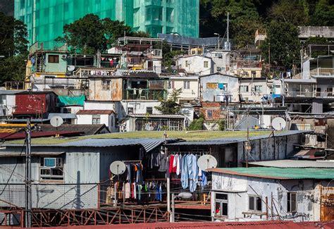 hong kong   city  villages squatter