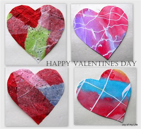 Valentines Paper Crafts - the of my and other things crafts