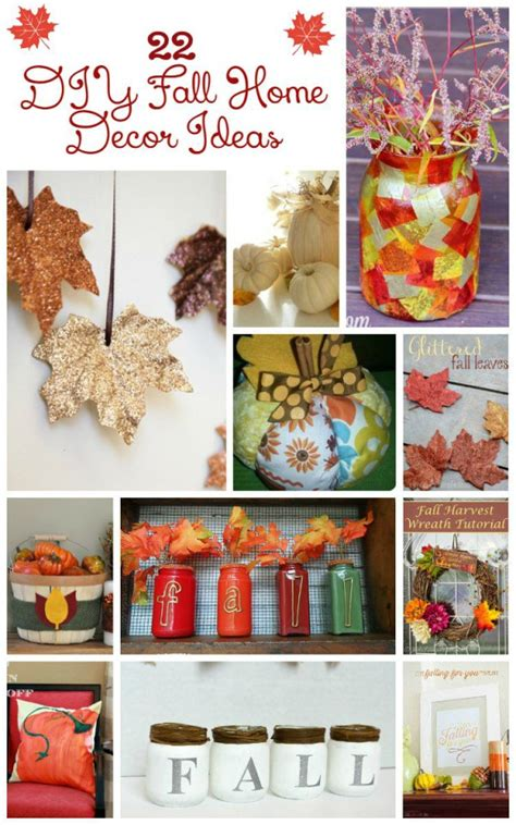 Craft Home Decor by Make A Statement With Stunning Diy Fall Home Decor Crafts