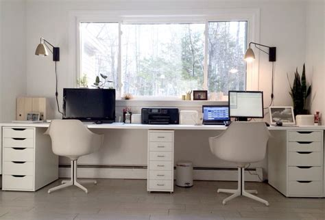 dual desk office ideas 25 best ideas about double desk office on pinterest