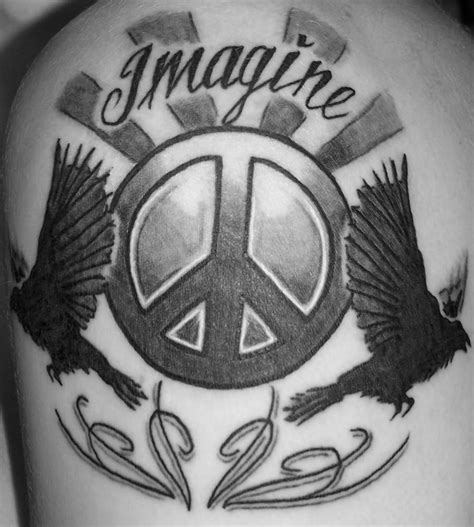 peaceful tattoos peace sign tattoos designs ideas and meaning tattoos