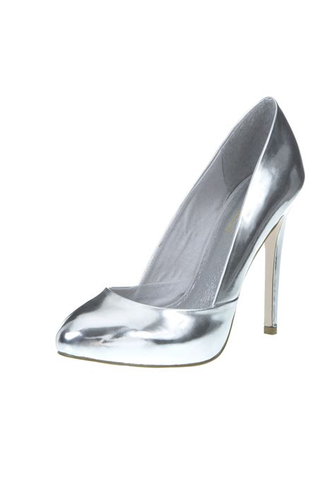 Hight Hells Silver silver high heels