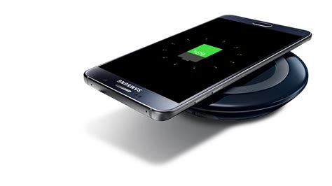 New Samsung Wireless Charging Pad Fast Charger S6note5edge Paling D new fast charge wireless charging pad white black for