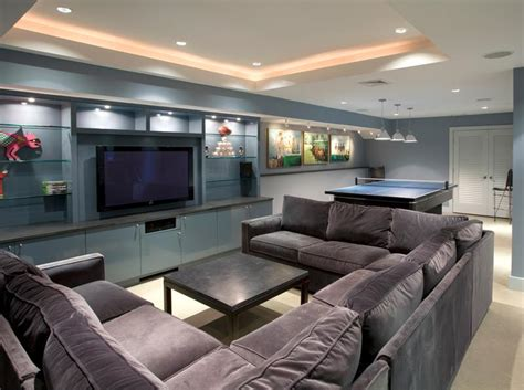 contemporary design ideas 22 finished basement contemporary design ideas page 4 of 4