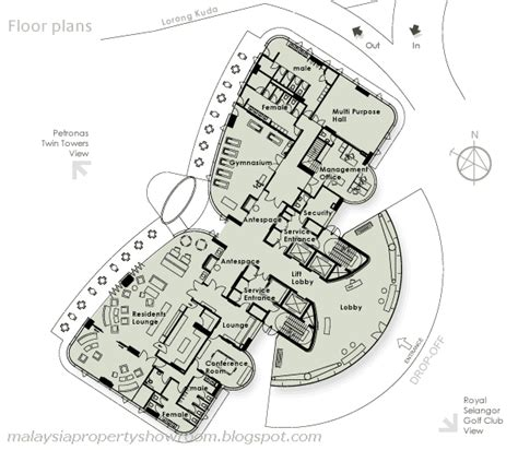 suria klcc floor plan the avare malaysiacondo
