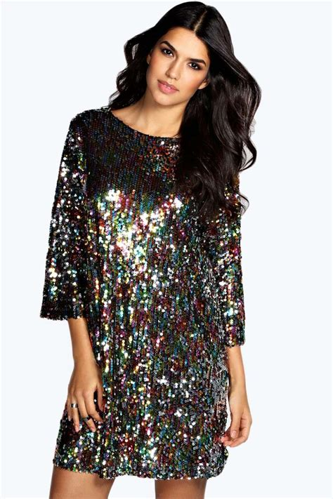 multi color sequin dress multi color sequin dress to wrap sparkle and shine