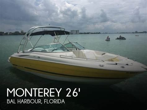 fishing boat bal harbour for sale used 2006 monterey super sport 268 ss in bal