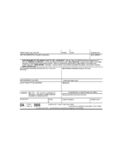 Army Email Address Lookup Army Change Of Address Form 3955 Fill Printable Fillable Blank Pdffiller