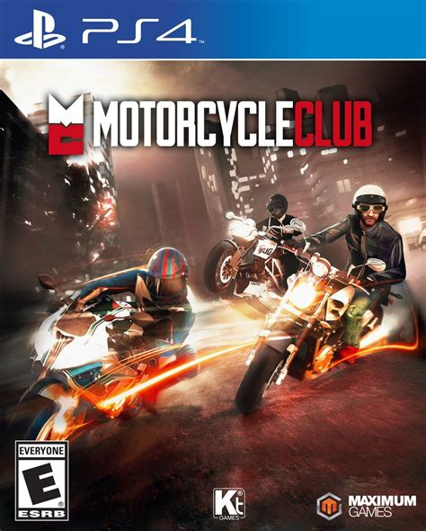 Motorcycle Club   Playstation 4 Game
