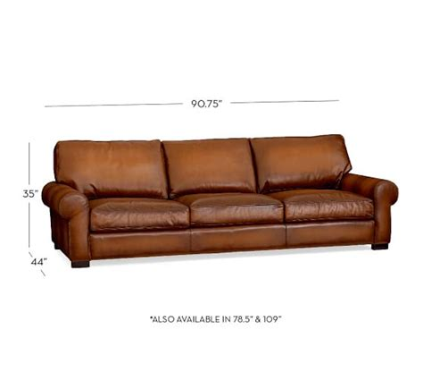 pottery barn leather sofa review pottery barn turner roll arm leather sofa reviews