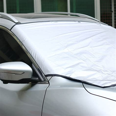 window covers for cars new car truck suv snow sun dust magnetic windshield