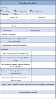 client consultation form template consultation feedback form sle consultation feedback