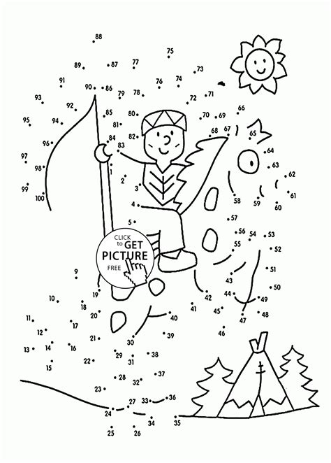 christmas jigsaw dot to dots sheet for kids dot to dot to 100 coloring pages for connect the dots printables free wuppsy
