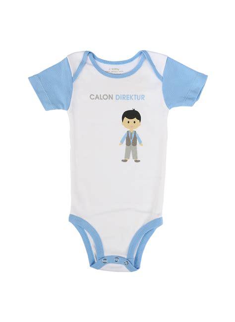 Bodysuit Putih j baby calon direktur 3 12 bln pcs klikindomaret