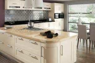 Amalfi cream gloss mastercraft kitchens
