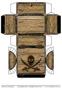 pirate treasure chest template pirate treasure chest box sassaby