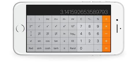landscape calculator the calculator app in ios 10
