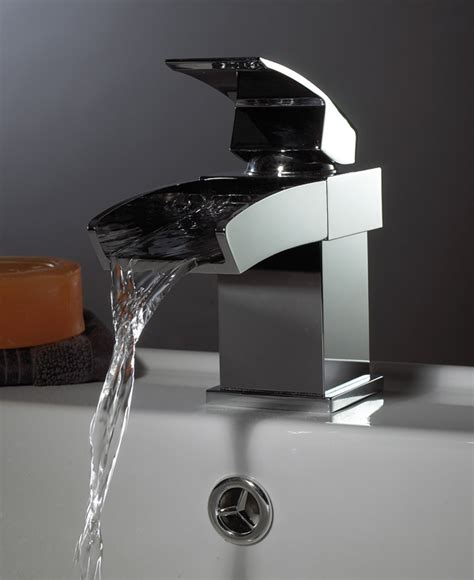 Mono Bath Shower Mixer Tap waterfall taps single lever mono basin from phoenix ca009