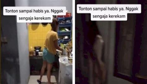 penampakan hantu wanita   masak indomie menjadi viral