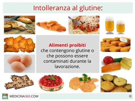 alimenti proibiti ai celiaci intolleranza al glutine sintomi e diagnosi cosa mangiare