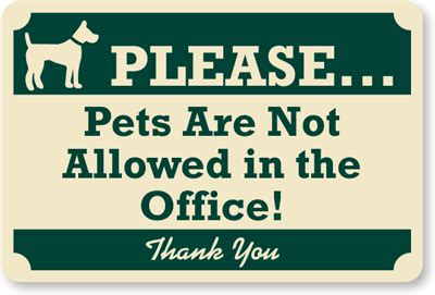 dog not allowed in bedroom pets not allowed in office sign no pets sign no dog sign sku k 7585