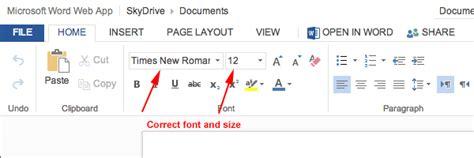 mla format using microsoft word 365 office 365 onedrive mlaformat org