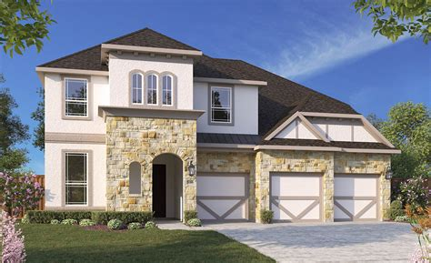 dartmouth home plan by gehan homes in woods