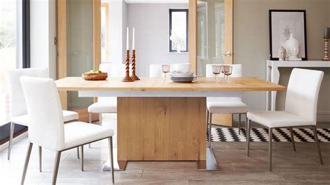 extending dining room tables oak extending dining table oak veneer 4 8 seater uk