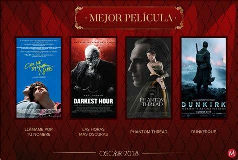 Oscar 2018 Esta Es La Lista De Nominados A Los Premios De La Academia Diario De Cultura Nominados A Los Premios Oscar 2018 Lista