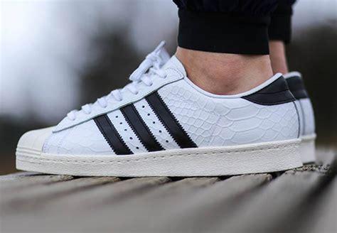 Adidas Superstar 1 the adidas originals superstar arrives in snakeskin sneakernews