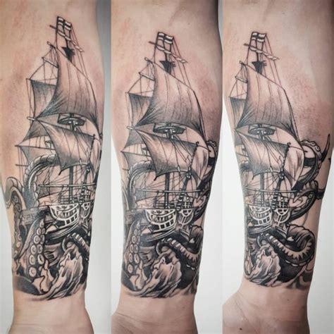 kraken ship tattoo 60 best kraken meaning and designs legend of the