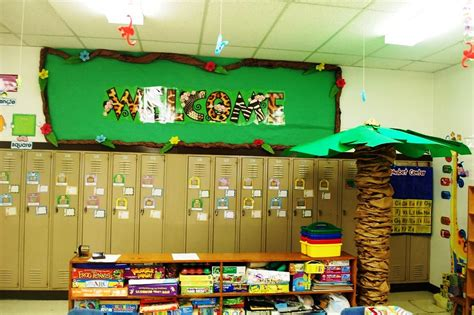 Jungle Classroom Decorations : How to Make Jungle Bulletin