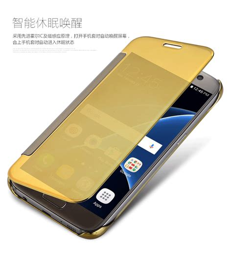 Samsung Galaxy J2 Prime J2prime Flip Mirror Cover new clear view smart flip cover for samsung galaxy j7 prime ebay