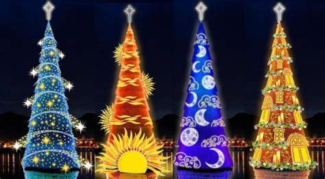 permainan membuat pohon natal 9 pohon natal terindah dan terunik di dunia lifestyle