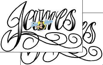 james tattoo font lettering tattoo design ttf 00126 tattoojohnny com
