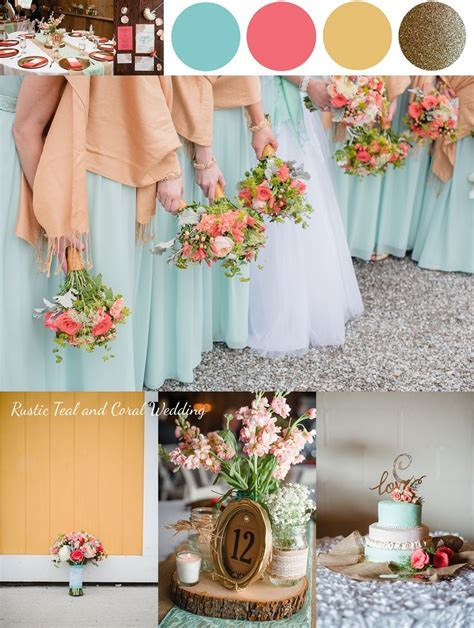 1000  ideas about Teal Yellow Wedding on Pinterest