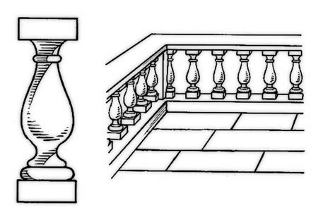 porch clipart baluster and balustrade buildings porch baluster and